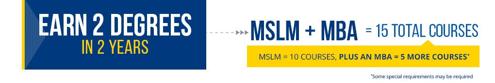 MSLM 2nd degree option