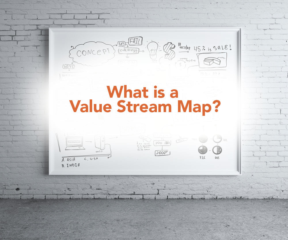 What Is A Value Stream Map Process Flow Diagram Vs