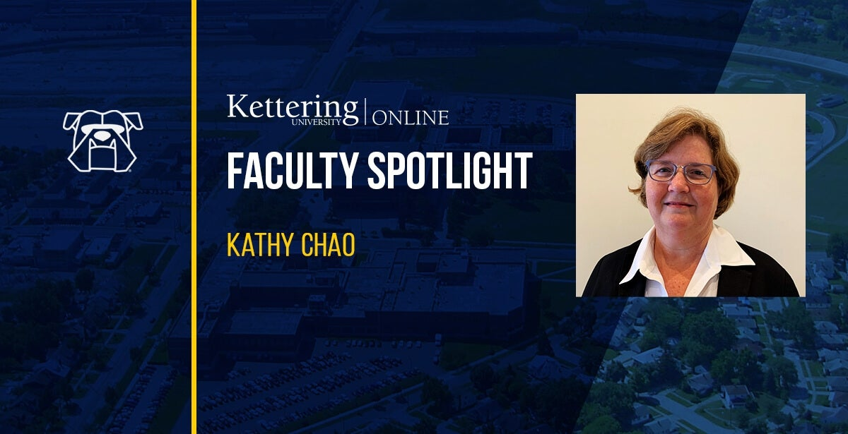 Kathleen Chao, Contributing Faculty Member and teacher of Supply Chain Management, Logistics, and Operations courses.