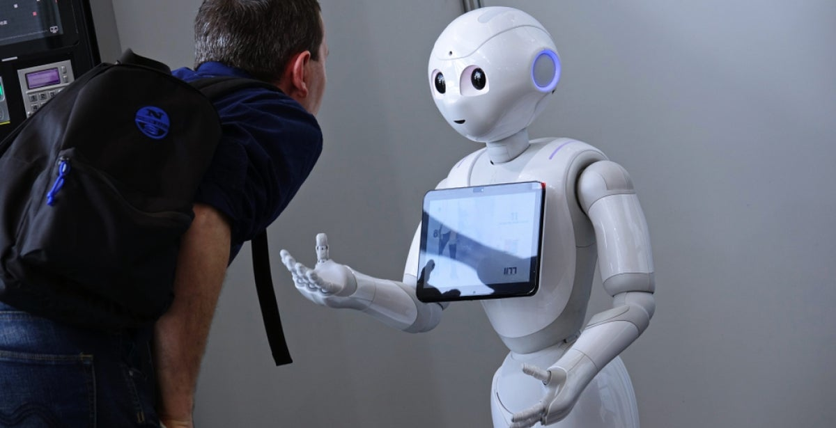 human interaction with robot