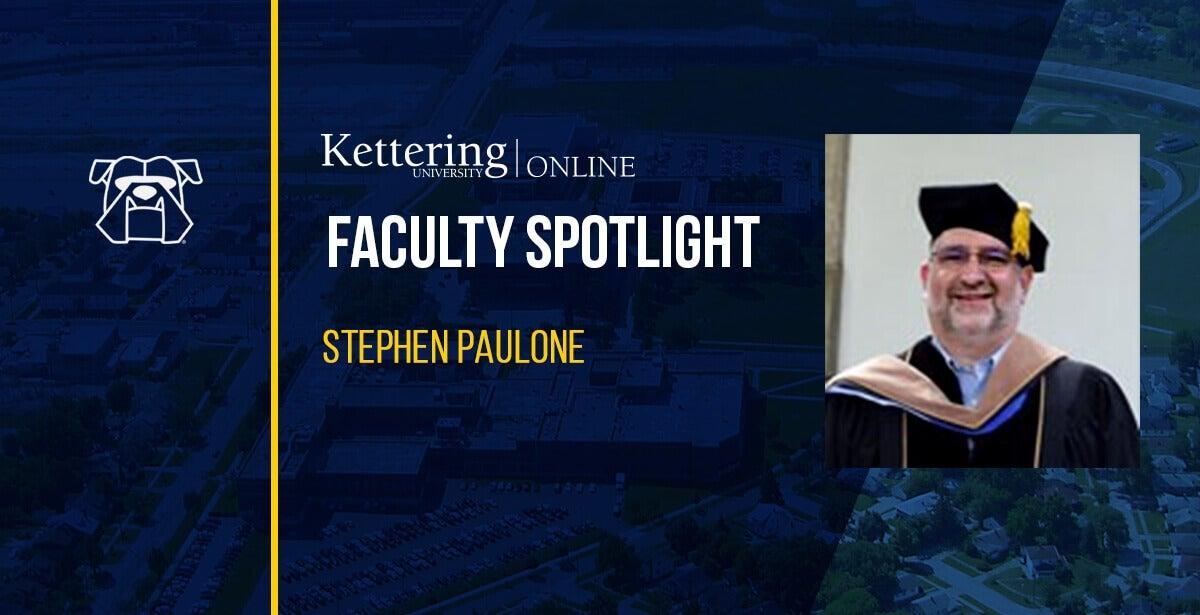 Kettering University Stephen Paulone-May2021