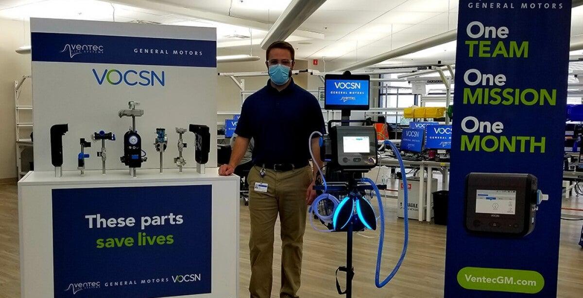 Kettering University Online Student Works on General Motors Ventilator Team