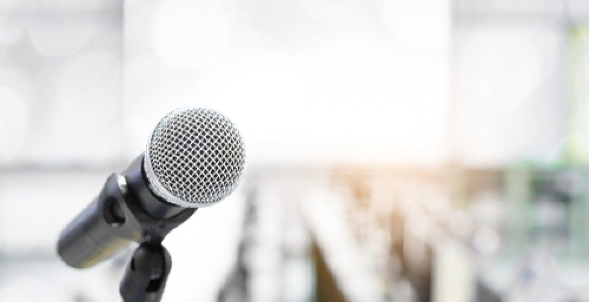 Public Speaking Tips blog header